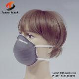 Type utilisation remplaçable de cuvette d'industrie de masque protecteur de la poussière d'Earloop