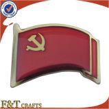 Значок Pin металла спортивного мероприятия нестандартной конструкции напечатанный выдвиженческий (FTFP1606A)