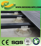 Постамент доски Decking WPC регулируемый пластичный в Китае