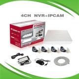 4PCS 1080P IP 사진기를 가진 4CH 1080P Poe NVR 장비