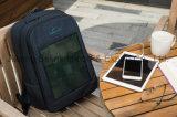 CIGSの薄膜の太陽充電器が付いているビジネスバックパック