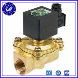 Gás normalmente aberto válvula de solenóide do aço inoxidável de 110 volts