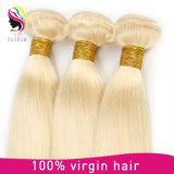 волос Remy ранга 7A человеческие волосы монгольских прямые белокурые