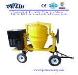 Móvel quente da maquinaria de construção das vendas misturador de cimento de 300 litros
