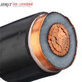 Bajo cable aislado PVC 0.6/1kv de la corriente eléctrica de la base del cobre de la tensión