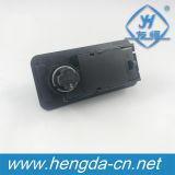 Yh1216 3 디지털 플라스틱 조합 캠 자물쇠 사무실 Dawer 내각 로커 자물쇠