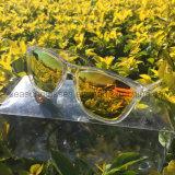 PC unisex do logotipo feito sob encomenda da forma UV400 e óculos de sol polarizados