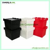 Le déplacement Nestable empilables en plastique et déplacer la caisse de transport du stockage