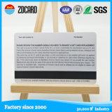 Carte polychrome de PVC d'adhésion de Hico 2750OE de l'impression Cr80 avec la piste magnétique