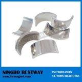 Магниты NdFeB высокого качества формы дуги никеля покрытые спеченные сильные