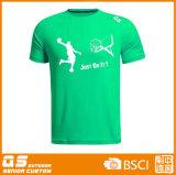 Maglietta asciutta rapida promozionale personalizzata di marchio