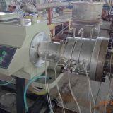 Ligne jumelle conique en plastique d'extrusion de pipe de PVC de boudineuse à vis Sjsz80