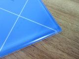 glace Tempered de verre trempé d'impression de bleu de 5mm