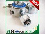 Regolatore di pressione inferiore dell'argon del collegamento con acciaio inossidabile