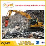Tipo de demolición silenciosa de la excavadora hidráulica