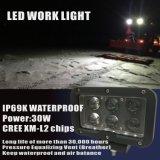 무거운 장비, 광업 소방차를 위한 LED 일 빛