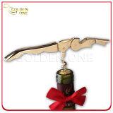 Überzogener Wein-Korkenzieher des Qualität-Edelstahl-24k Gold