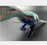 De blauwe Vorm van de Dinosaurus van de Tabak van de Filter van de Waterpijp van het Glas
