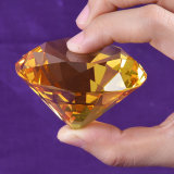 60mm Multi Color Crystal Glass Diamond per Paperweight Decoration, 8PCS/Set