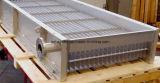 """Intercambiador de calor de placa de acero inoxidable de canal ancho 304 """"Intercambiador de calor de sistema de refrigeración y calefacción de polvo de fluorita"""""""