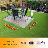 إعلان, طريق جانب, سقف, يرتّب عشب اصطناعيّة مع نظرة طبيعيّ