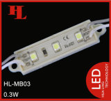 3 PCS 3528 SMD Coque en plastique + Remplissage colle Non-Injection Module à LED