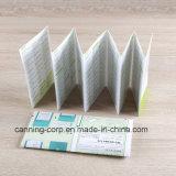 Serviço de impressão manual do inseto da cor do folheto do livreto do livro da impressão do papel do Manufactory da impressão