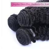 100% de cabelo humano Virgem Peruano grossista de pacotes de cabelo africano tecem
