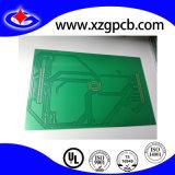 2 Schicht gedruckte Schaltkarte mit Immersion-Gold und grüner Lötmittel-Schablone