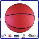 Выдвиженческий дешевый и цветастый резиновый баскетбол