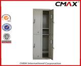 Locker 4 문 Metal 강철 School Furniture Steel 갱의실 Locker Gym Clothing Cabinet Cmax-SL04-001