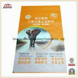 A tela não tecida laminou o saco 25kg tecido PP para a alimentação do elefante