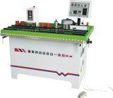 Manual de linha reta e curva Orladora Máquina com aparador lateral duplo