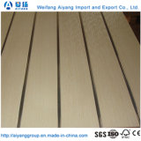 Decorative Interior Wall Panels Melamine Faced Slotted Wall MDF