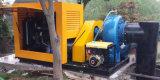 Desidratação de lamas de depuração de lixo água centrífuga bomba diesel
