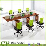 Divisória moderna do escritório do frame do metal do estilo para a pessoa 6