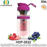 2016 новых пластиковых фрукты Infuser бутылка воды, Тритан фрукты вливание расширительного бачка (ПВР-0522)