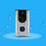 HD 720pの夜間視界PIRのモニタの李電池のドアの電話システムの動きアラームサポートAPP WiFiビデオドアの電話
