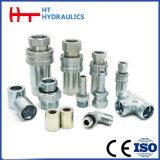 Acoplamento rápido hidráulico do aço inoxidável de S316 /S304 com padrão de Eaton