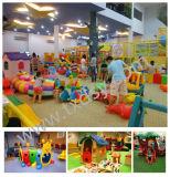 Equipamento interno do campo de jogos dos miúdos engraçados