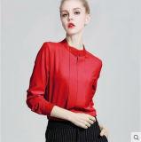 Nuove camice su ordinazione della camicetta del cotone di disegno per le donne