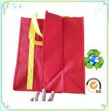 Bolso de compras no tejido impreso insignia, bolsos de totalizador no tejidos, bolso promocional no tejido