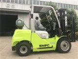 Tonelada psta gás Forklifter dos caminhões de Forklift 3.5 do Lp