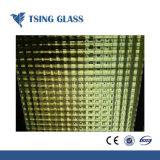 3-8 mm Design de vidro com padrões de Bronze figurado de vidro vidro para construção