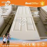 HDF clásico de la puerta pintada en blanco / Blanco / Puerta de la puerta de imprimación de moldeado de la piel