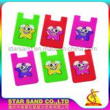 Handy-anhaftende Karten-Tasche, Kreditkarte-Mappe für Telefon