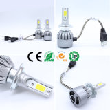 Car Fender with Car H7 LED 7600lm H7 LED Headlight