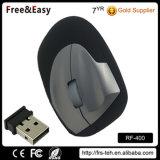 ハイテクで大きいサイズ2.4G無線人間工学的の縦マウス