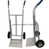 Tratamento de superfície do revestimento a pó carrinho de mão de armazenamento de alumínio