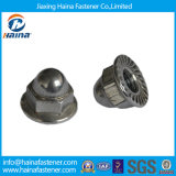 Fasteners를 위한 DIN1587 Carbon Steel Steel Hex Cap Nut